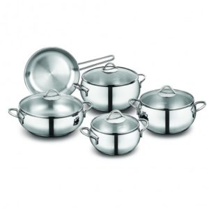 Tombik 9 pcs. Cookware Set-A1800 LKR 25,000